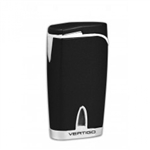 Vertigo Twister Black Quad Torch Lighter - VTQBLK