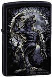 Zippo Lighter - Wolf Howling at the Moon - ZCI001722