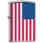 Zippo Lighter - USA United States American Flag - ZCI007959