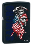 Zippo Lighter - Sons of Anarchy SAMCRO Blk Matte - ZCI011805