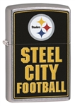 Zippo Lighter - NFL Pittsburgh Steelers - ZCI409121