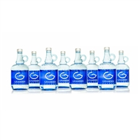 8 (Eight) 1 Litre Bottles of Grander Blue Water
