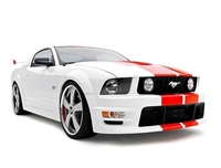 3d carbon mustang 06 Ford Mustang Roush body kit boy racer 05 09 mustang 10 pc