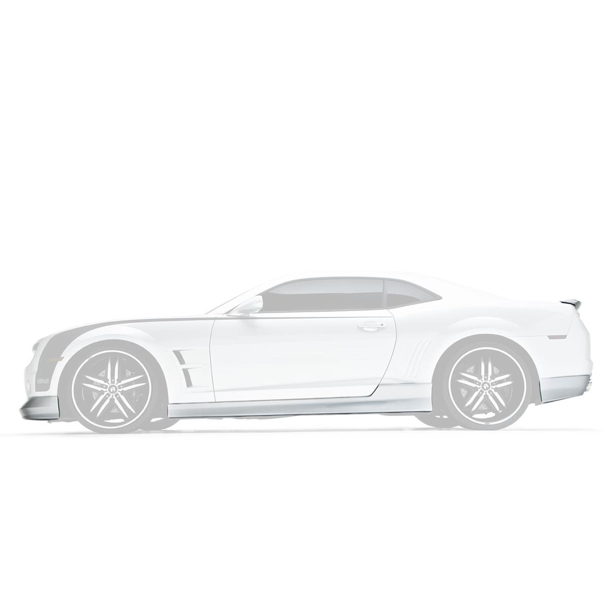 Body Kit, w/Spoiler & U-Trim, 10-13, Camaro V8, 6-PC