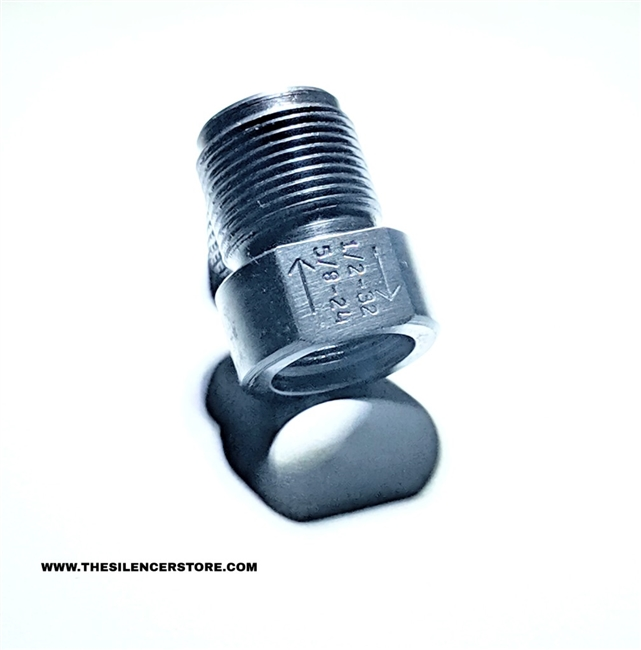 1//2-32 TO 5//8-24 THREAD ADAPTER
