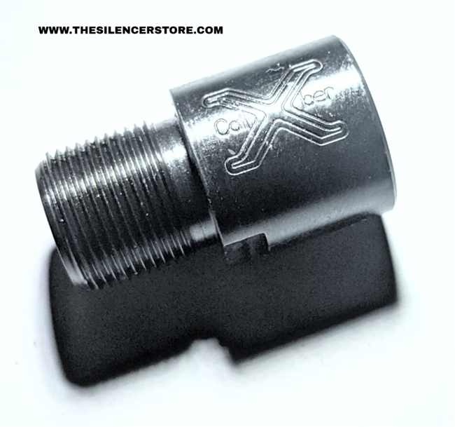 Threaded Adapter: M14x1L to 5/8-24
