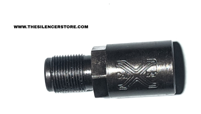 1 Inch Barrel Extender Adapter: 1/2-28 to 1/2-28