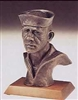 Navy Sailor Bust by Terrance Patterson