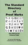 Directory of Proof Marks With WWII German Ordnance Codes
