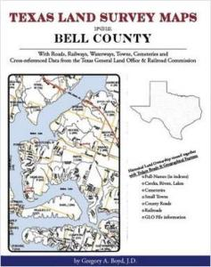 Texas Land Survey Maps for Bell County, Texas by: Gregory Boyd