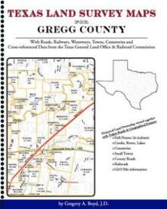 Gregg County Land Survey Maps