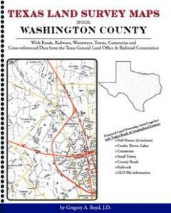 Washington County Texas Land Survey Maps