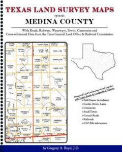 Medina County Texas Land Survey Maps