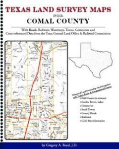 Comal County Texas Land Survey Maps