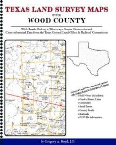 Wood County Texas Land Survey Maps