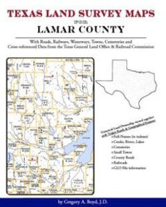 Texas Land Survey Maps for Lamar County by: Gregory Boyd