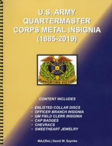 US Army Quartermaster Corps Metal Insignia