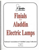 Aladdin Electric Lamps Finials