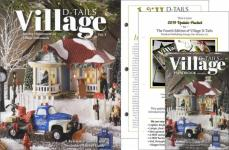 4 Part Set: Department 56 Village D-tails AND 2018 & 2019 Supplements AND Handbook