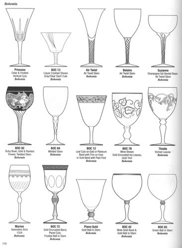 Crystal Stemware ID Guide Volume 1: A-F
