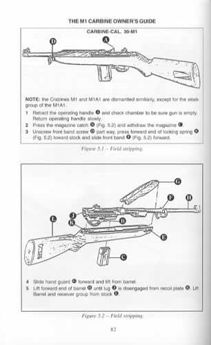 The M1 Carbine Owner's Guide (Springfield Rifle, Blue Book) by: Larry M Carbine Diagram on