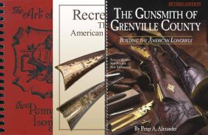 Three Longrifle Building Books
