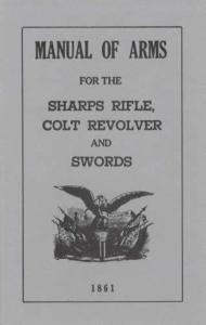 1861 Manual of Arms Sharps Rifle