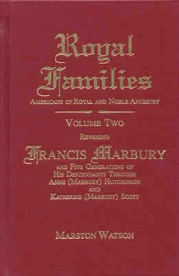 Rev Francis Marbury Descendants Of Anne Hutchinson