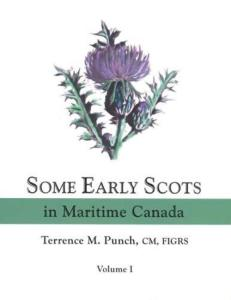 Early Scots Maritime Canada