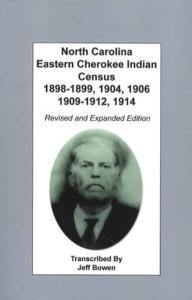 North Carolina Eastern Cherokee Indian Census