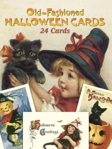 Old-Fashioned Halloween Cards: 24 Cards by: Gabriella Oldham