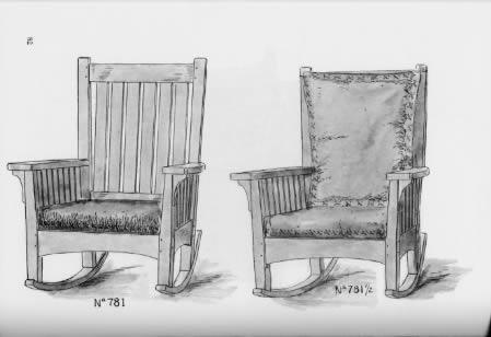 L Jg Stickley Bros Furniture Salesmans Catalog Reprint