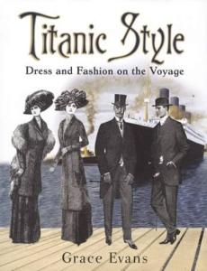 Titanic Style Dress Fashion c1911