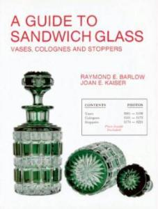 Sandwich Glass: Vases, Colognes, Stoppers