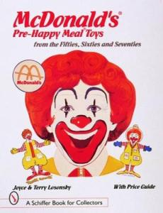 McDonalds Pre-Happy Meal Toys 1950s-1970s