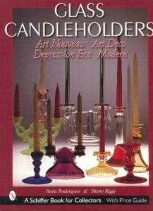 Glass Candleholders: Art Nouveau, Art Deco, Depression Era & Modern