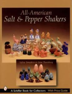 All-American Salt & Pepper Shakers by: Sylvia Tompkins, Irene Thornburg