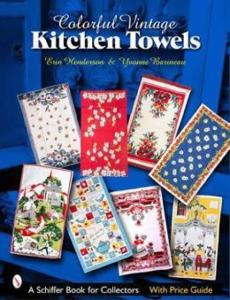 Colorful Vintage Kitchen Towels by: Erin Henderson, Yvonne Barineau