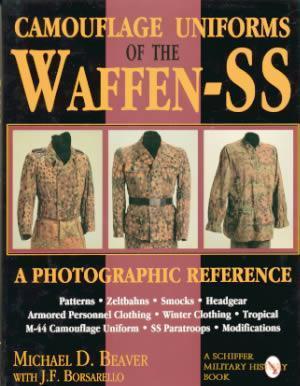 Waffen Ss Camouflage Uniforms Book Wwii Ww2 German