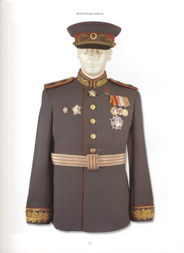 Wwii Parade Uniforms Of The Soviet Union By James Mccomb