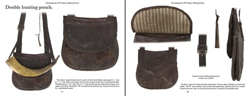 Recreating 18th Century Hunting Pouch Book Leather Bag