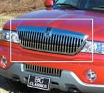 "Lincoln Navigator Diamond Pattern ""Z"" Grille by E&G CLASSICS, 1998, 1999, 2000, 2001, 2002"