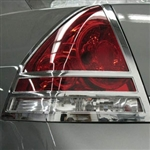 Chevrolet Impala Chrome Tail Light Bezels, 2006, 2007, 2008, 2009, 2010, 2011, 2012, 2013