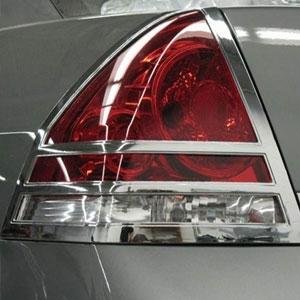 Chevrolet Impala Chrome Tail Light Bezels 2006 2013