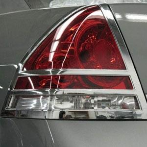 Chevrolet Impala Chrome Tail Light Bezels 2006 2007 2008 2009 2010 Larger Photo
