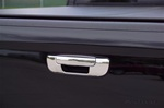 Dodge Ram Chrome Rear Tailgate Handle Cover, 2002, 2003, 2004, 2005, 2006, 2007, 2008
