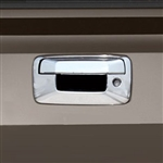 Chevrolet Silverado Chrome Tailgate Handle Cover, 2007, 2008, 2009, 2010, 2011, 2012, 2013
