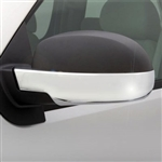 Chevrolet Avalanche Chrome Lower Mirror Covers, 2007, 2008, 2009, 2010, 2011, 2012, 2013
