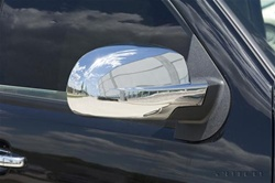 Toyota Sienna Chrome Mirror Covers, 2004, 2005, 2006, 2007, 2008, 2009, 2010