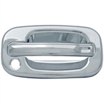 Cadillac Escalade Chrome Door Handle Cover Trim, 2002, 2003, 2004, 2005, 2006